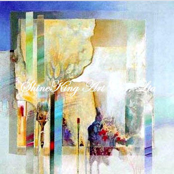Handmade  Abstract  Oil Painting  Modern Art  Home Decor Canvas Paintings A2932 50x50cm