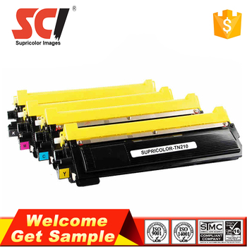 Factory supply premium color toner cartridge TN210 for Brother MFC 9320CW laser printer