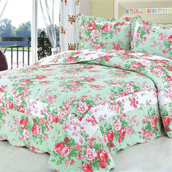 Bw A0 15 Fashionable Diffe Flower Types Indian Cotton Print Bedspread
