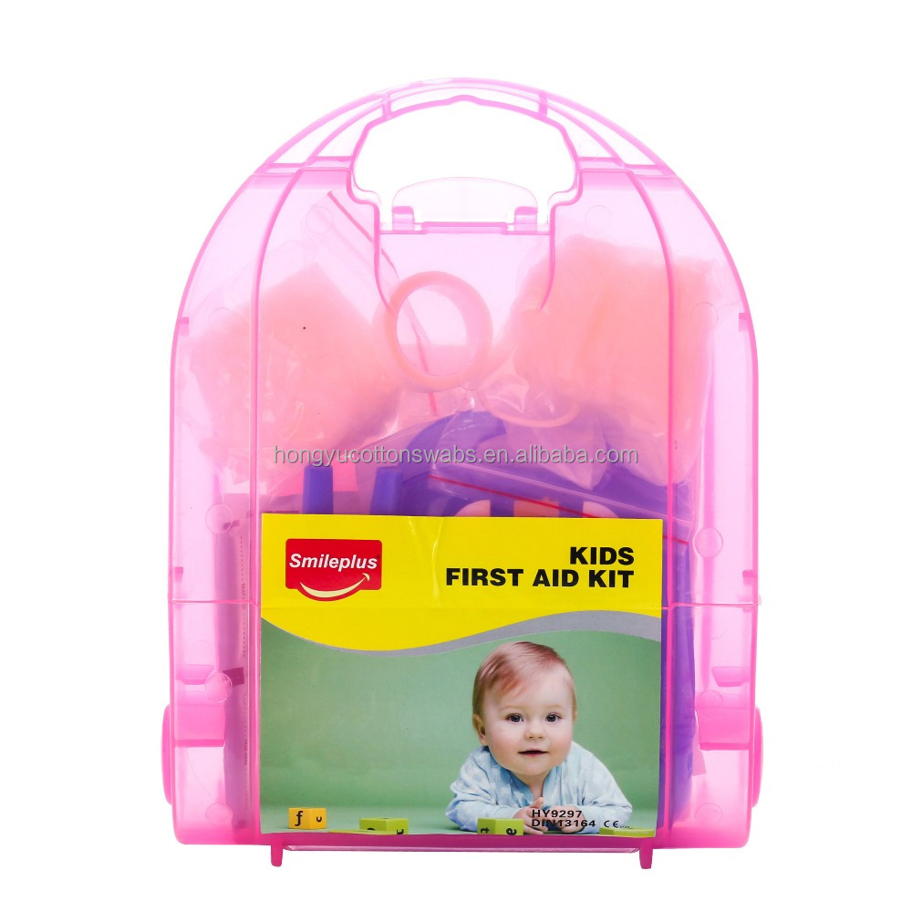 kids plastic first aid kit
