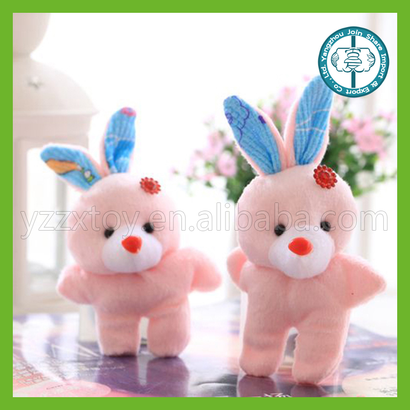 Wholesale high quality soft stuffed rabbit very cheap toys for kids