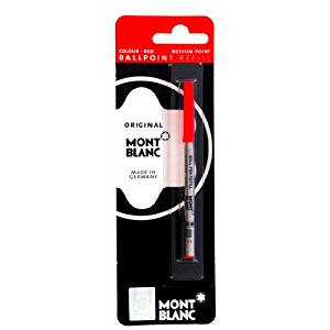 Mont Blanc Ballpoint Refill Medium Red