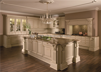 Custom quality antique kitchen cabinet furniture
