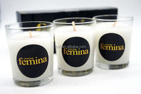 Candle Soy Candle Set of 3 Votive Soy Candles