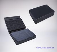 OEM paper eye shadow box black cardboard cosmetic box