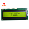 80x36mm Lcd 16x2 2x16 alphanumeric lcd display module with ROHS certification