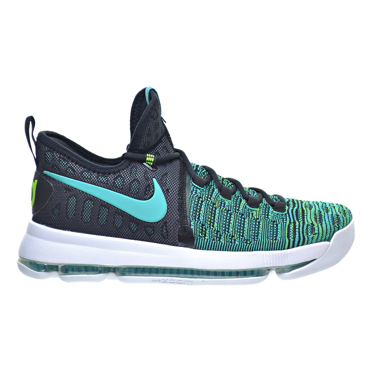 ef6ec3f09251 Get Quotations · Nike Zoom KD 9 Men s Basketball Shoes Clear Jade Black  843392-300