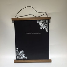 Magnetic chalk dry black erase board with frosted aluminium frame