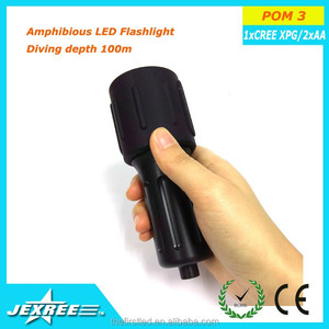 Jexree BACK UP DIVING LIGHT xml 2 900 lumen Waterproof diving plastic Pom Delrin flashlight wholesale