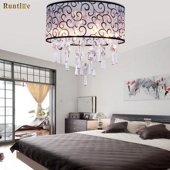 Overstock Crystal Chandelier,4 Light Drum Chandelier Flush Mount Ceiling  Light Fixture For Bedroom And Living Room - Buy Crystal Chandelier,Flush ...