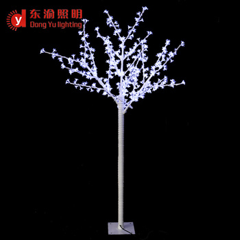 osaka white outdoor christmas height 65ft with surface pu metal trunk cherry tree light - White Outdoor Christmas Tree