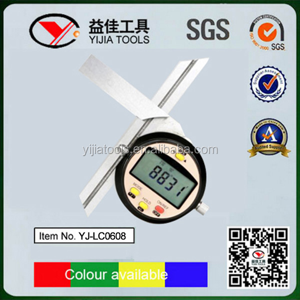 2016 China hotsale LCD Digital Angle Finder Spirit level YJ-LC0608