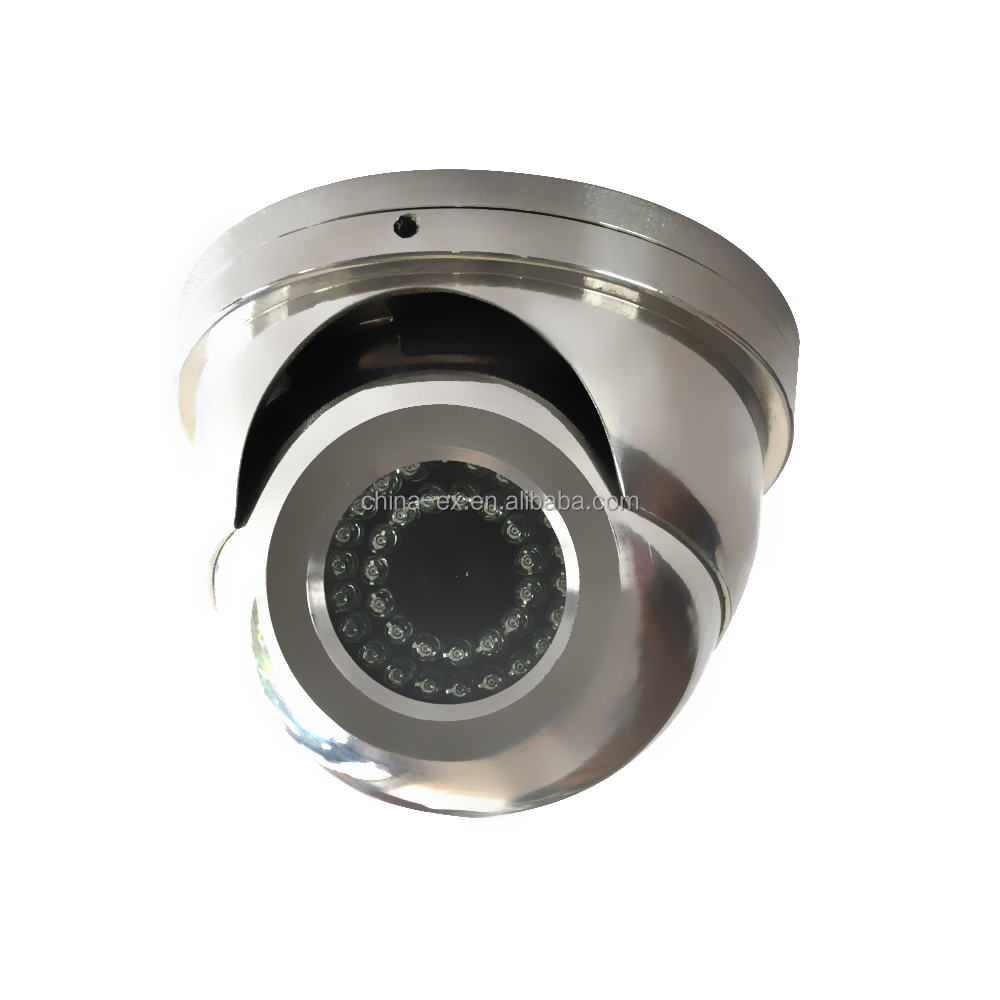 Explosion proof infrared hemisphere cctv camera indoor