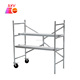 Aluminum scaffolding h frame used aluminum planks for sale
