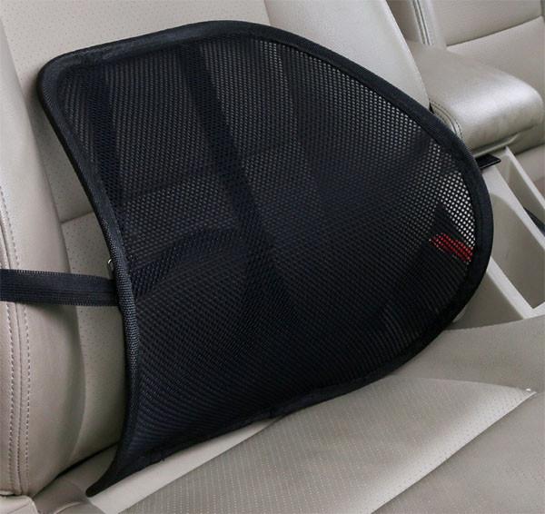 Car Seat Mesh Backrest Cushion,Lumbar Back Support Cushion