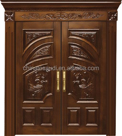 Imitated teak wood main door design latest design wooden for Latest main door designs 2016