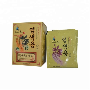 Manufacturer Wholesale Korea Henna Speedy Hair Color Shampoo Fast