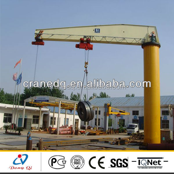 China hometown cheap Prices Free Standing Forklift Crane Jib