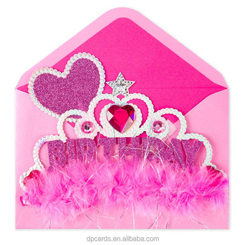 High Quality Birthday Gift For 3 Year Old Girl Cute Card