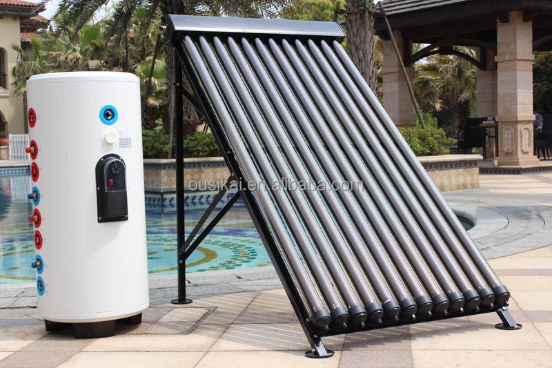 Modische Schwarze Farbe Solar Wasser Heizung, Umwälzpumpe Solaranlage Für  Hause