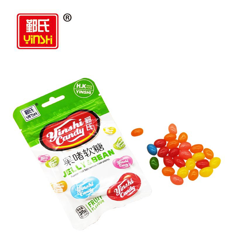 Cheap price wholesale multi color fresh delicious fruit flavors jelly bean