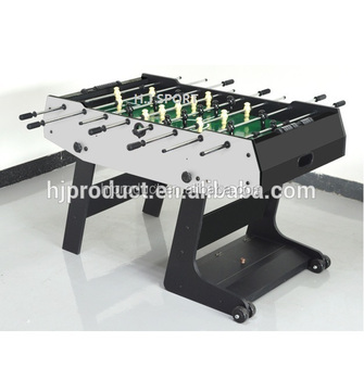 High Quality Wooden Table Top Game Soccer Ball Hand Play Foosball Babyfoot  Table For Sale
