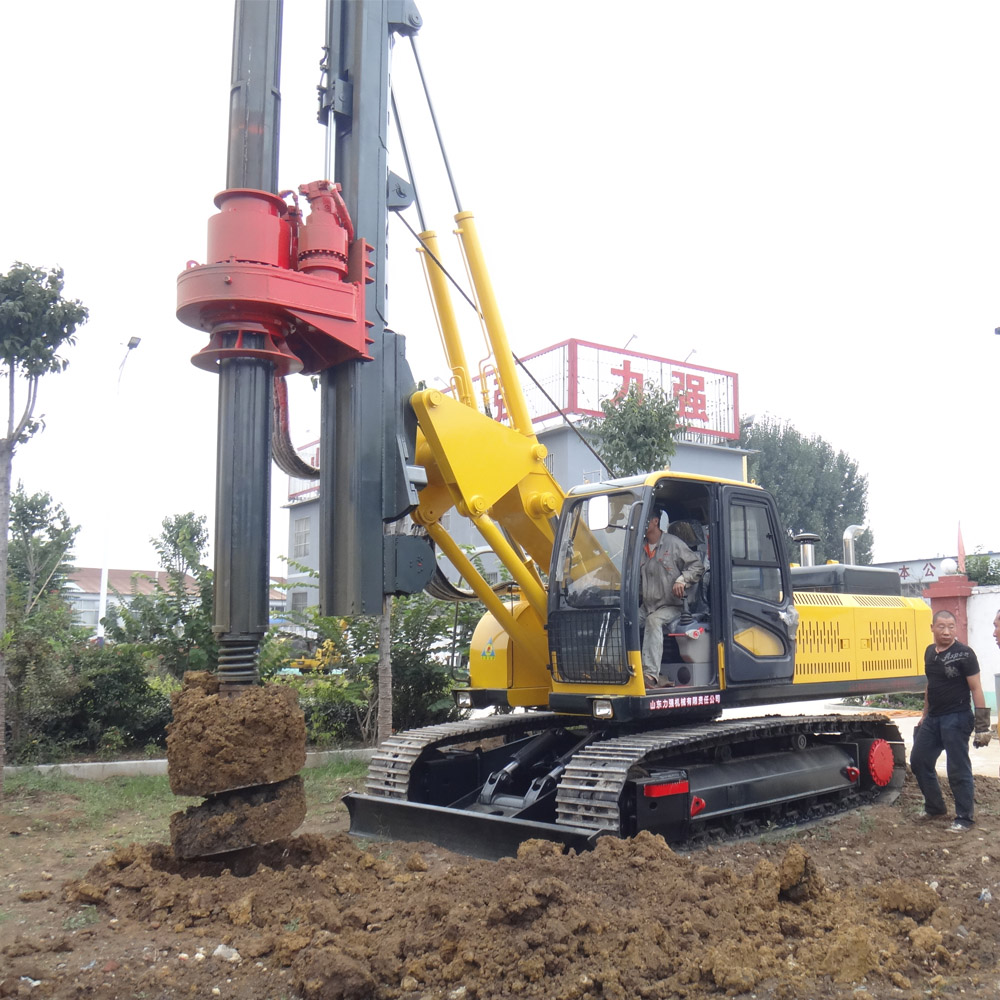 deep construction foundation pile drilling rig for foundation engineering