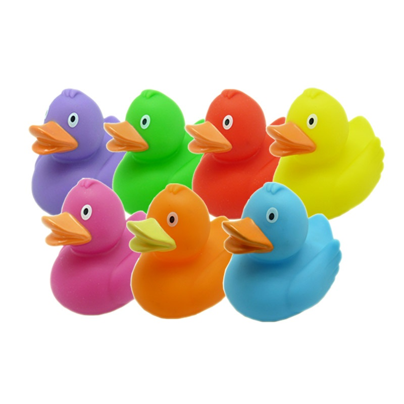 Squeaky Eco-friendly Rubber toy duck for baby/ rubber duck toy/ bathing rubber toy