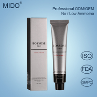 China Hair Dye Manufacturers Wholesale Italian Hair Color Brands Style Low Ammonia Permanent Professional Hair Color Cream