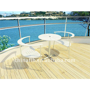 Hpl Patio Garden Furniture Outdoor Restaurant Dining Table And Chair