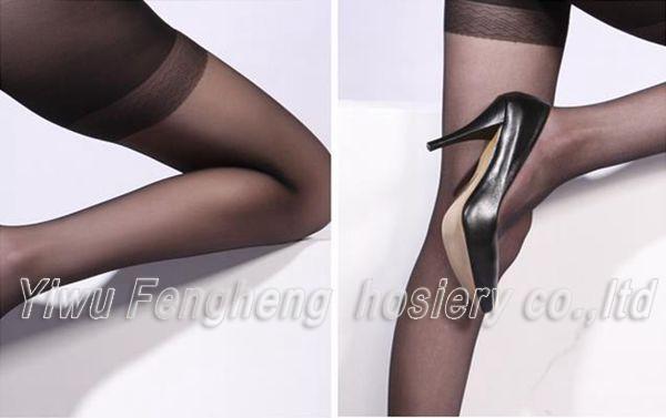 ae3fcdb8cda Reinforced Heel And Toe Fashion Tube Women Pantyhose - Buy ...