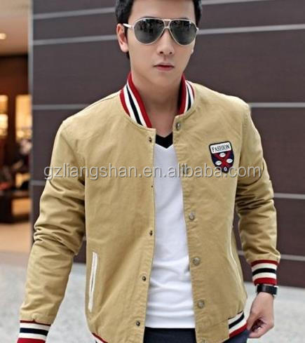 Wholesale Price Best Price Men Slim Fit Jackets Baseball Jacket ...