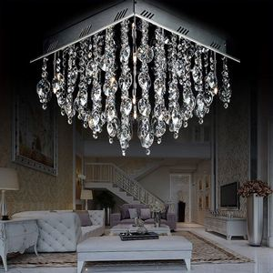 Small Nickel Mother Chain Chandelier