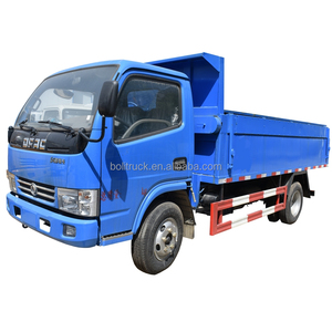 China Dongfeng mini 8CBM capacity garbage dump truck for sale