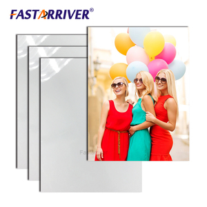 0.65mm glossy white aluminum photo printing heat transfer sublimation blank
