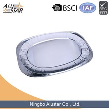Hot disposable bake aluminium foil trays