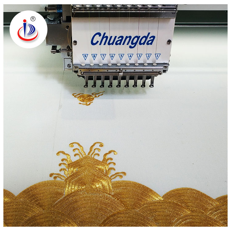INDUSTRIAL COMPUTER FLAY EMBROIDERY MACHINE WITH LESS HEAD CHEAP EMBROIDERY MACHINE FOR SALE