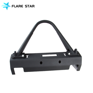 High Quality Jk Steel EVO Front Bumper For Jeep Wrangler 4x4 Offroad Front Bumper Guard Car Accessories