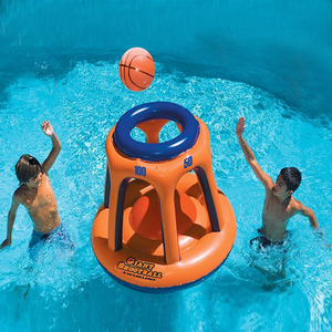 PVC kids toy inflatable basketball stand hoop children toys