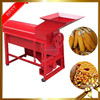 Automatic soybean sorghum millet maize widely used grain thresher electrical home antique wooden corn sheller