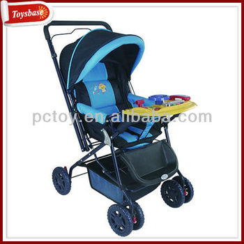 Folding Baby Car Seat Trolley