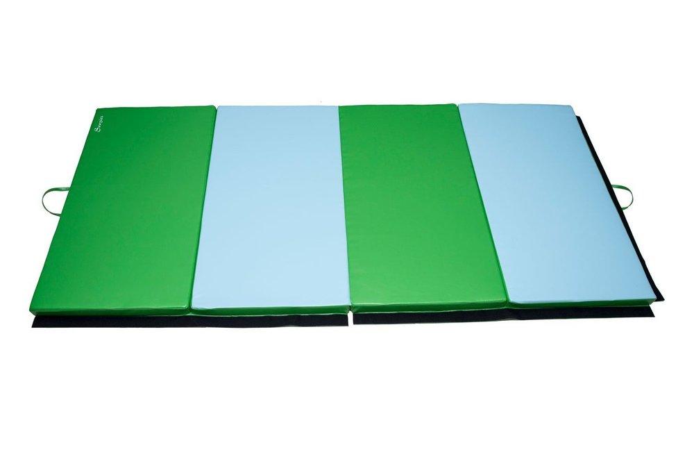 folding gym mat tumbling wrestling matrest matkids play mat