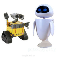 2Pcs Pixar Wall-E and Eee-Vah EVE Action Figure