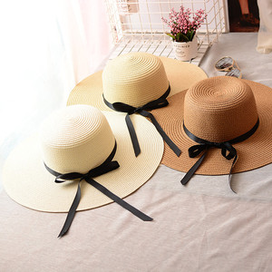 Wholesale Custom Paper Promotional Cheap For Women Girls Wide Brim China  Summer Beach Straw Hats 4f43ddf9c4ef