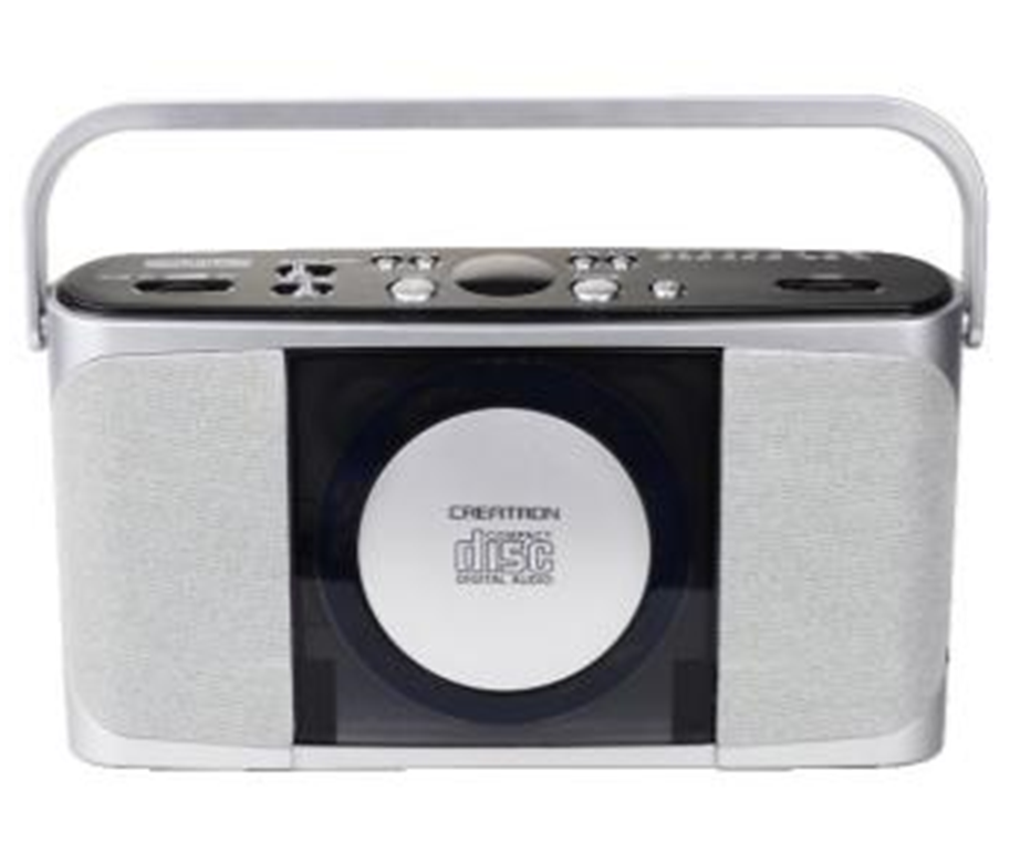 PCD-18 AM/FM-Stereo Radio Speakers Portable Trolley Speaker