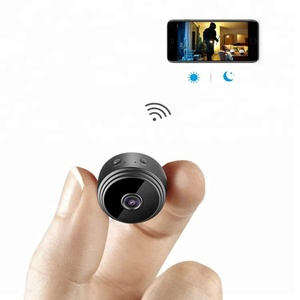hd 1080p Magnetic Spy WiFi mini Camera with built in rechargeable battery night vision
