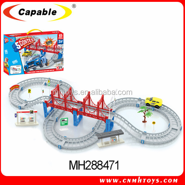 kids battery operated track carsself assembly toy carelectric race car track