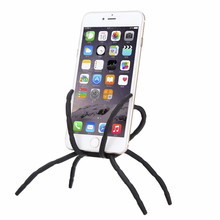 3D Cartoon Universal Spider Mobile Phone Holder For iPhone 6 6S Plus Stent For Samsung S7 S6 S5 Holder Stand Support For all Hol