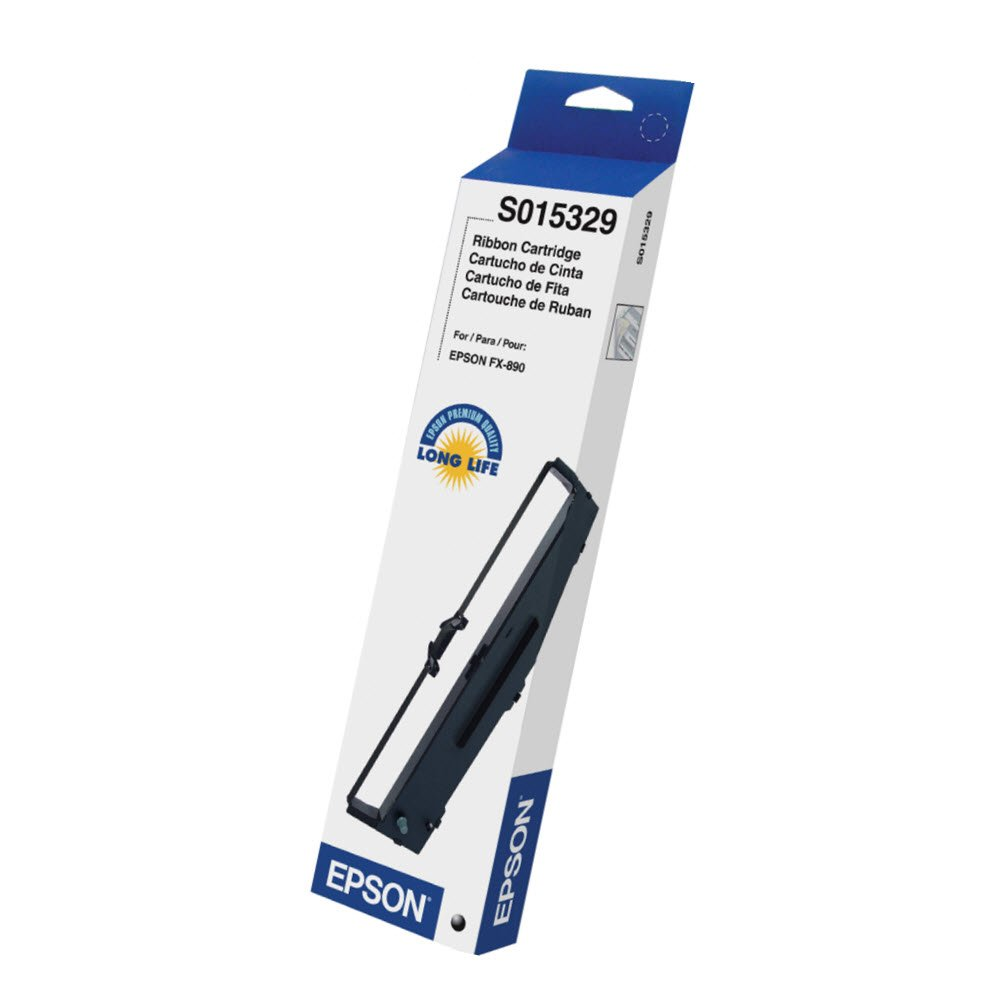 Epson S015329 Ribbon for FX-890, Consumables, Black