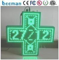 3d outdoor led pharmacy cross led pharmacy cross display led programming sign display